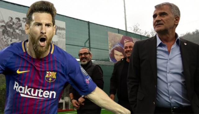 Şenol Güneş'ten Lionel Messi itirafı