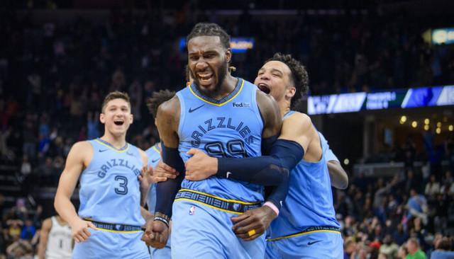 Grizzlies son saniyede kazandı