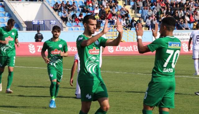 1074 Çankırıspor 1 - 3 Çaykur Rizespor