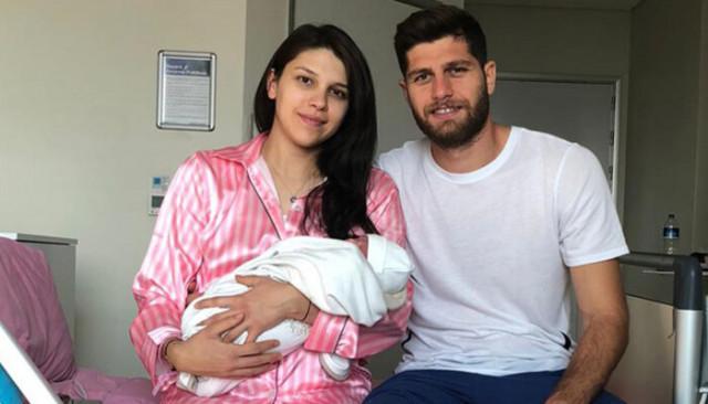 Sivassporlu futbolcu Cem Özdemir, baba oldu