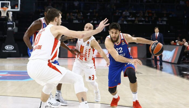 THY Euroleague'de 5. haftanın MVP'si Vasilije Micic oldu