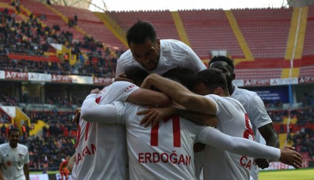 İstikbal Mobilya Kayserispor 1 - 4 Demir Grup Sivasspor (Spor Toto Süper Lig)
