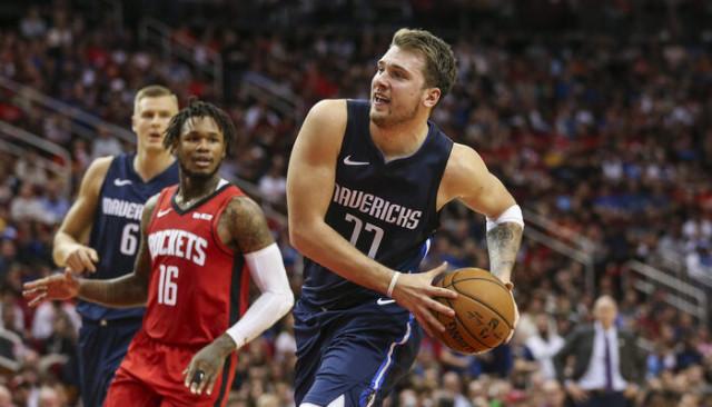 Houston Rockets 123 - 137 Dallas Mavericks (Luka Doncic 41, James Harden 32 sayı attı)