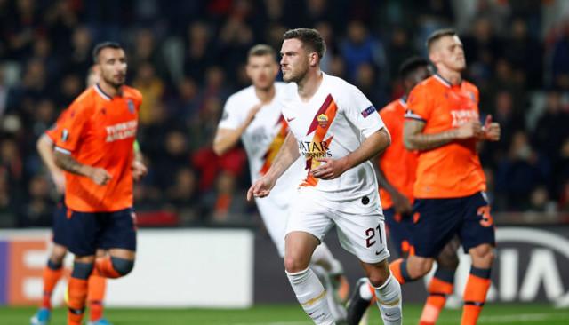 Başakşehir 0 - 3 Roma