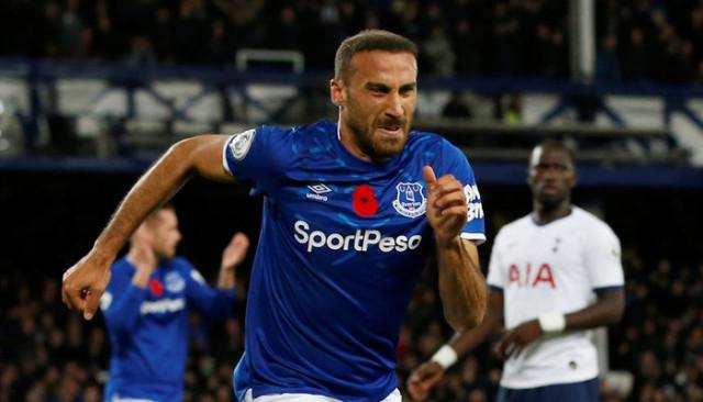 Everton 1 - 1 Tottenham