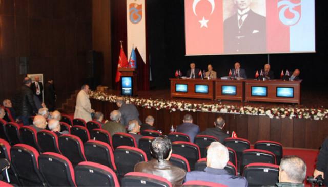 Trabzonspor'da 46. Dönem Yönetim Kurulu ibra edildi