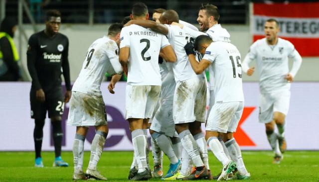ÖZET | Eintracht Frankfurt 2-3 Vitoria Guimaraes maç sonucu!