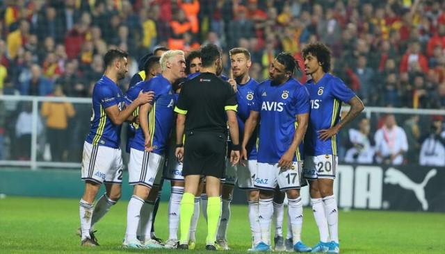 'Fenerbahçe, Göztepe maçında kural hatası yapıldığı gerekçesiyle TFF'ye itiraz edecek' iddiası!