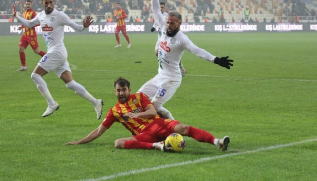 ÖZET | Yeni Malatyaspor: 0 - Çaykur Rizespor: 2 maç sonucu
