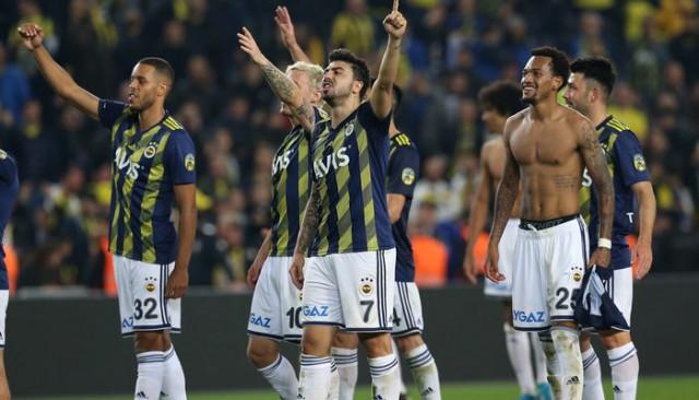 Fenerbahçeli futbolculardan Beşiktaş derbisinden sonra açıklamalar