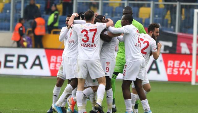 Sivasspor, tarihinin en iyi deplasman performansını tekrarladı