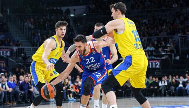 Anadolu Efes-Maccabi FOX: 99-79 (THY Avrupa Ligi)