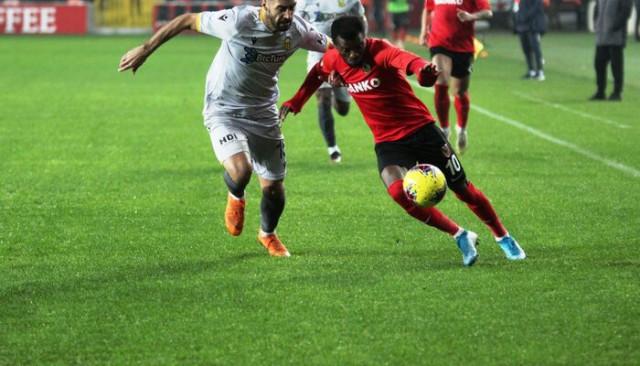 ÖZET | Gaziantep FK: 1 - Yeni Malatyaspor: 1 maç sonucu