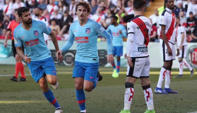 Rayo Vallecano 0 - 1 Atletico Madrid (İspanya La Liga)