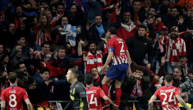 Atletico Madrid tur kapısını araladı