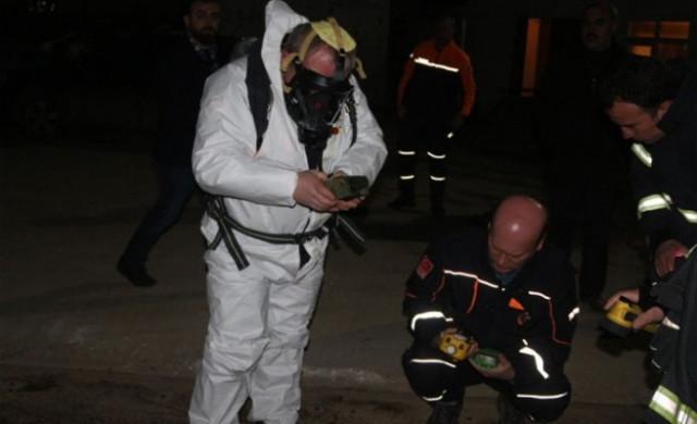 Esrarengiz koku 17 kişiyi hastanelik etti !