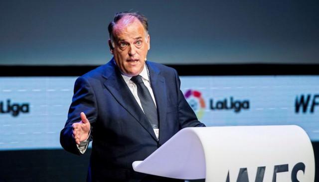 La Liga başkanı Javier Tebas'ın Premier Lig CEO'su olacağı iddia edildi
