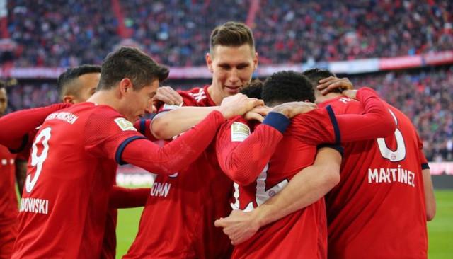 Bayern Münih 1 - 0 Hertha Berlin