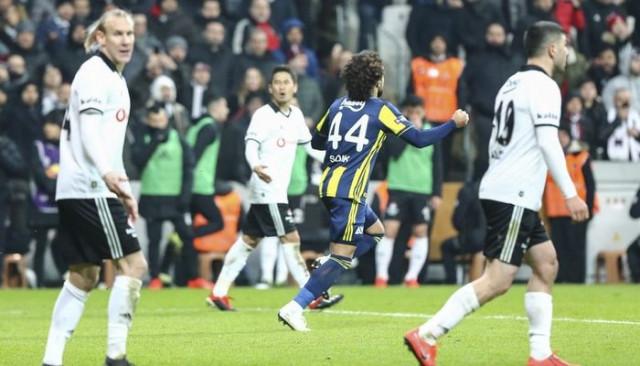 Fenerbahçe'den Vodafone Park'ta tarihi geri dönüş: 3-3