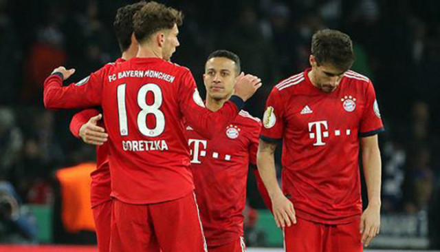 Bayern Münih Almanya Kupası'nda çeyrek finalde