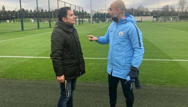 Türk teknik adam, Guardiola'nın stajyeri oldu!