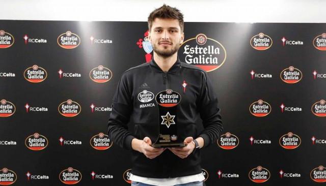Celta Vigo'da Okay Yokuşlu şubat ayının en iyi oyuncusu seçildi