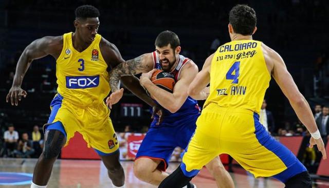 Anadolu Efes deplasmanda Maccabi FOX'u mağlup etti