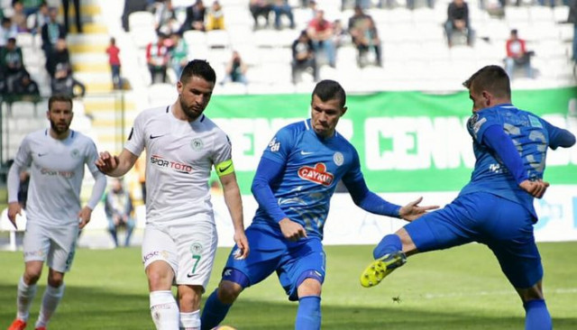 Atiker Konyaspor 0-2 Çaykur Rizespor