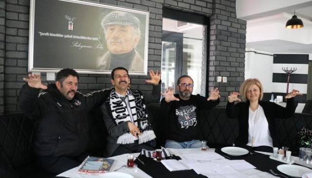 Beşiktaş aşkını 17 yıldır defterlere not ediyor