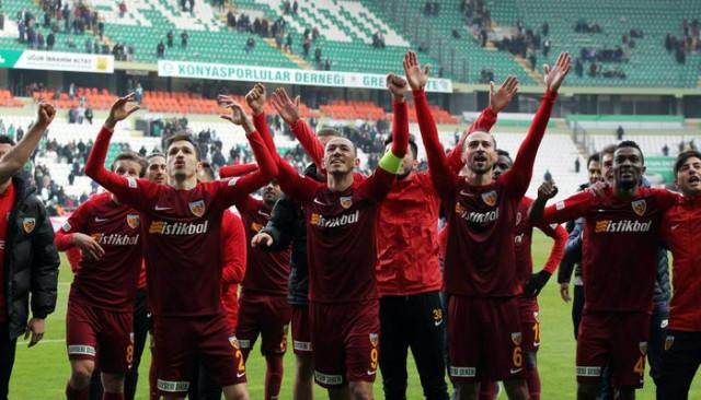 Kayserispor'un 25 ve 26. hafta maç programı belli oldu