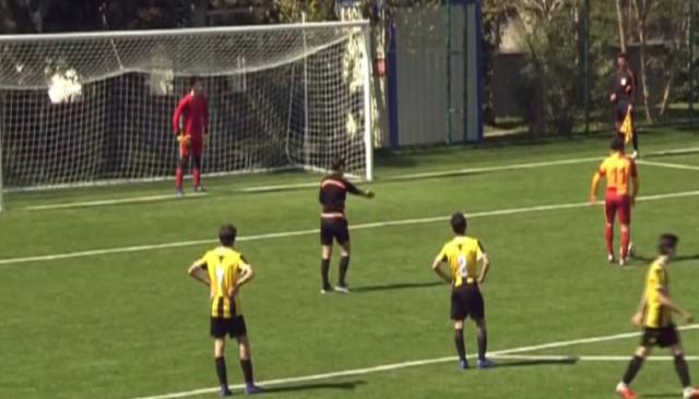 13 yaşındaki Galatasaraylı Beknaz Almazbekov dünya gündeminde