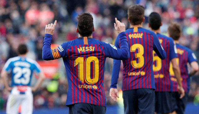 Barcelona 2 - 0 Espanyol (La Liga)