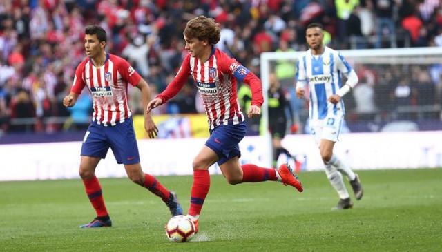 Atletico Madrid 1 - 0 Leganes