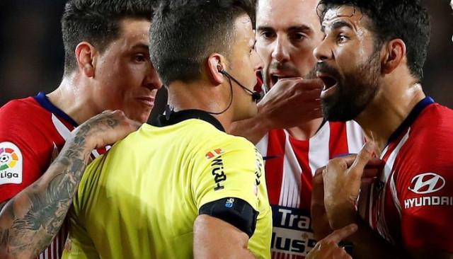 Diego Costa'ya tarihi ceza