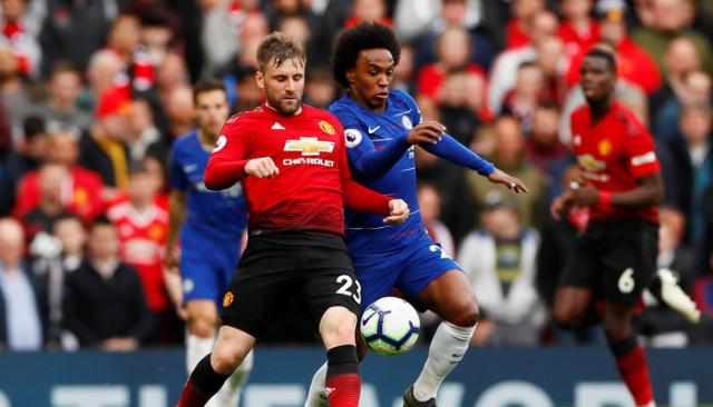 Manchester United 1 - 1 Chelsea (Premier Lig)