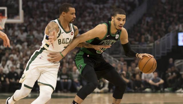 Boston Celtics, Milwaukee Bucks'ı 112-90 yenerek seride 1-0 öne geçti