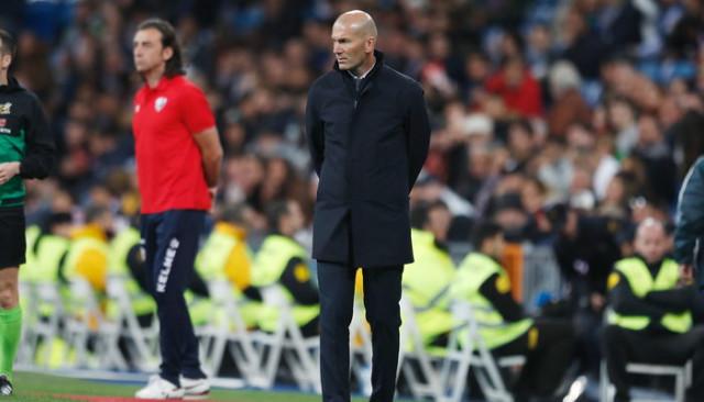 Real Madrid'de Zidane 3. maçta ilk yenilgisini aldı