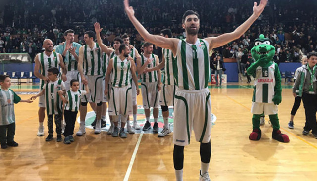 Bursaspor Basketbol Tahincioğlu Basketbol Süper Ligi'ne yükseldi