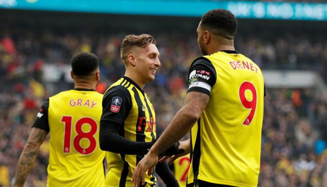 Watford, İngiltere Federasyon Kupası'nda (FA Cup) finale yükseldi