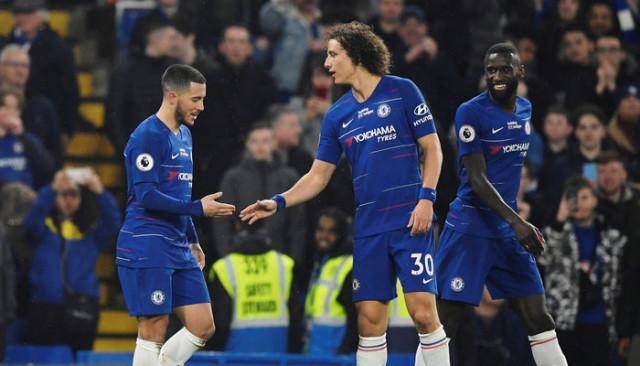 Chelsea'yi West Ham karşışında Eden Hazard sırtladı!