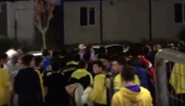Ankaragücü taraftarından başkan Mehmet Yiğiner'e tepki