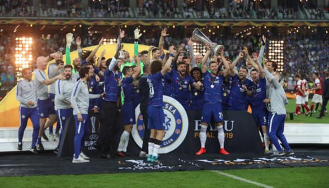 Chelsea'den rekorlu kupa