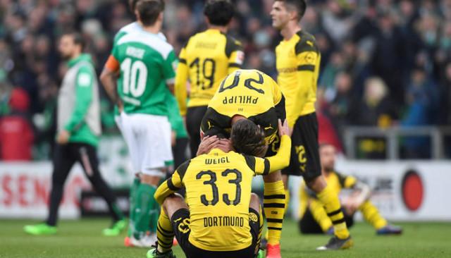 Werder Bremen 2 - 2 Borussia Dortmund (Bundesliga)
