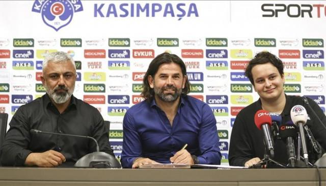 Kasımpaşa, İbrahim Üzülmez ile 1 yıllık sözleşme imzaladı