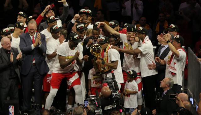 NBA'de şampiyon Toronto Raptors oldu!