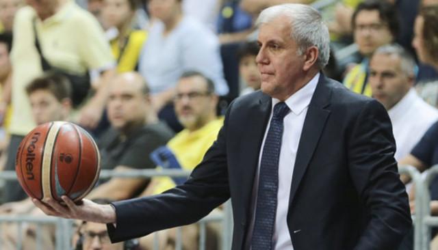 Zeljko Obradovic'ten oyuncularına tebrik