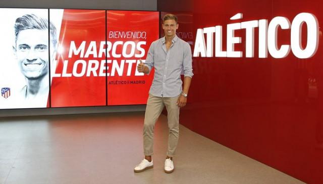 Atletico Madrid Marcos Llorente için Real Madrid'le anlaştıklarını açıkladı