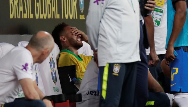 Neymar, Copa America'da yok