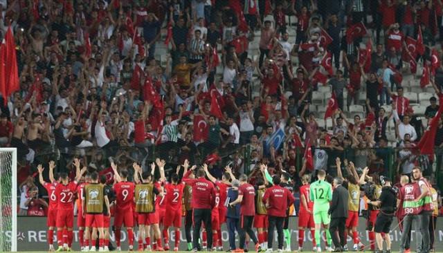 Türkiye Futbol Federasyonu'ndan Konya'ya teşekkür