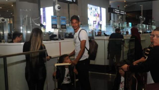 Fernando, ailesiyle birlikte Türkiye'den ayrıldı